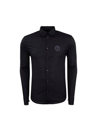 Frankie Morello Gömlek Siyah